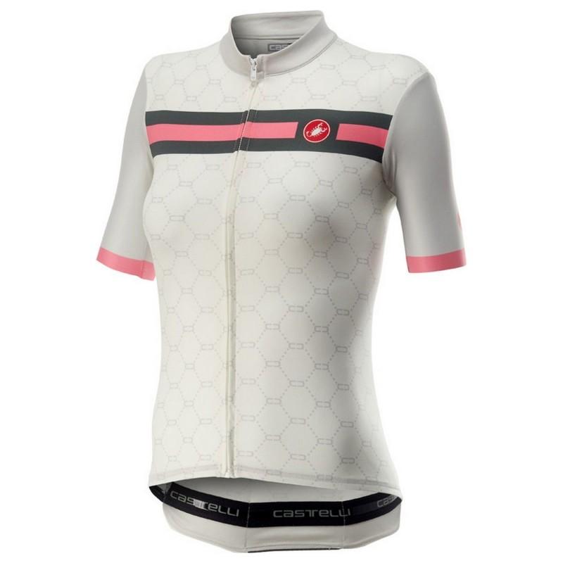 Castelli Maillot Atelier Blanc - Val de Loire Vélo - Tours Blois Taille XS