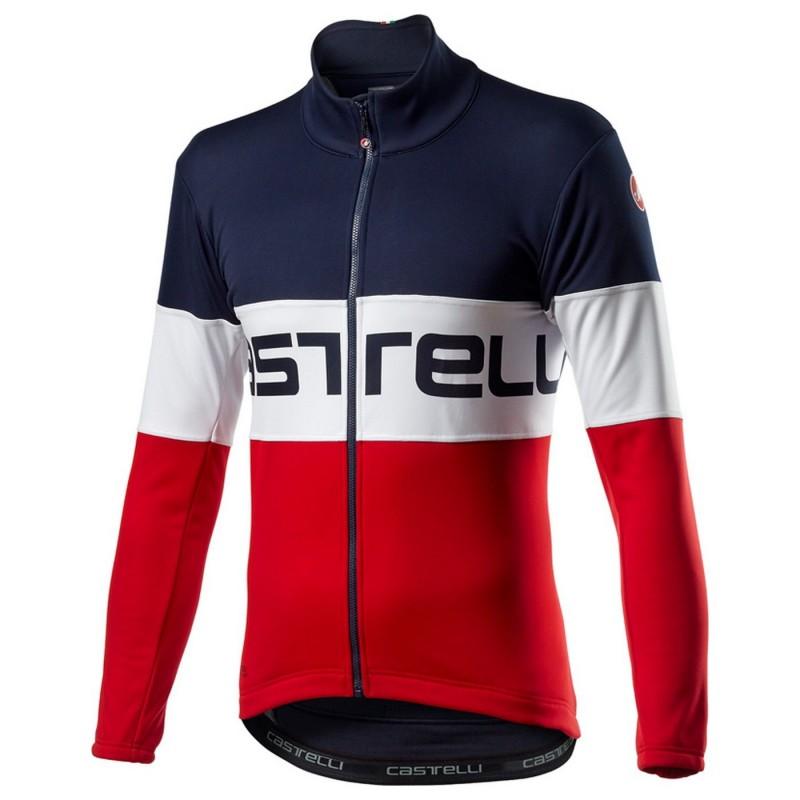 Castelli Veste Prologo Bleu/Blanc/Rouge - Val de Loire Vélo - Tours Blois Taille S