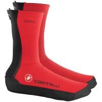 Castelli Couvre-Chaussures Instenso - Val de Loire Vélo - Tours Blois Taille M Couleur Rouge