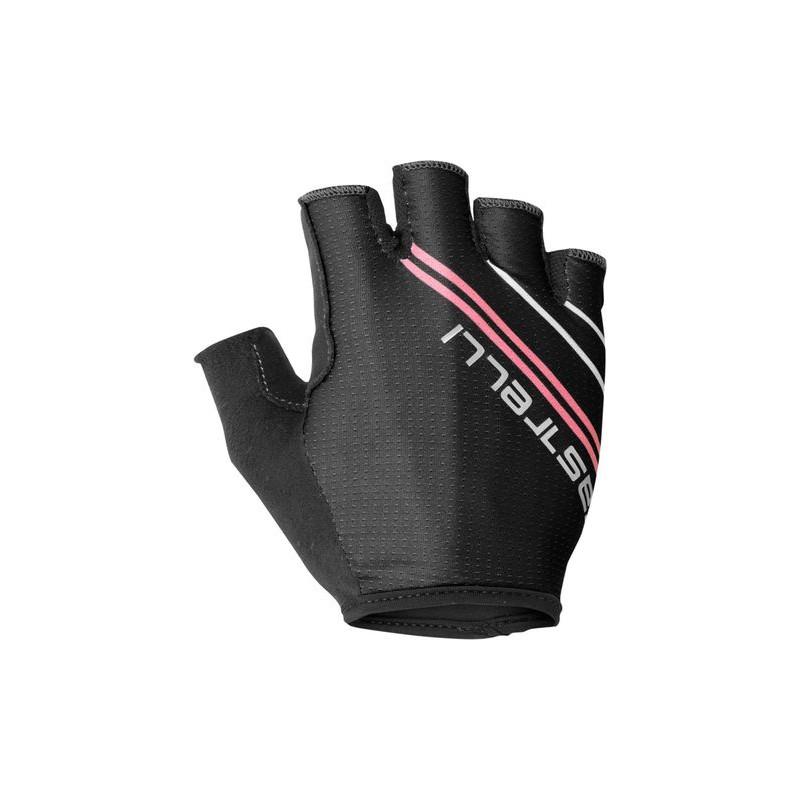 Castelli Gants Dolcissima 2 W Glove Noir/Rose - Val de Loire Vélo - Tours Blois Taille XS