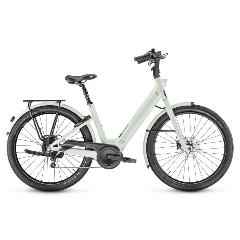 """Moustache Lundi 27.5 - Vélo électrique - Val de Loire Vélo Tours-Blois Tailles de roues 27.5"""" Couleur Menthe mat"""