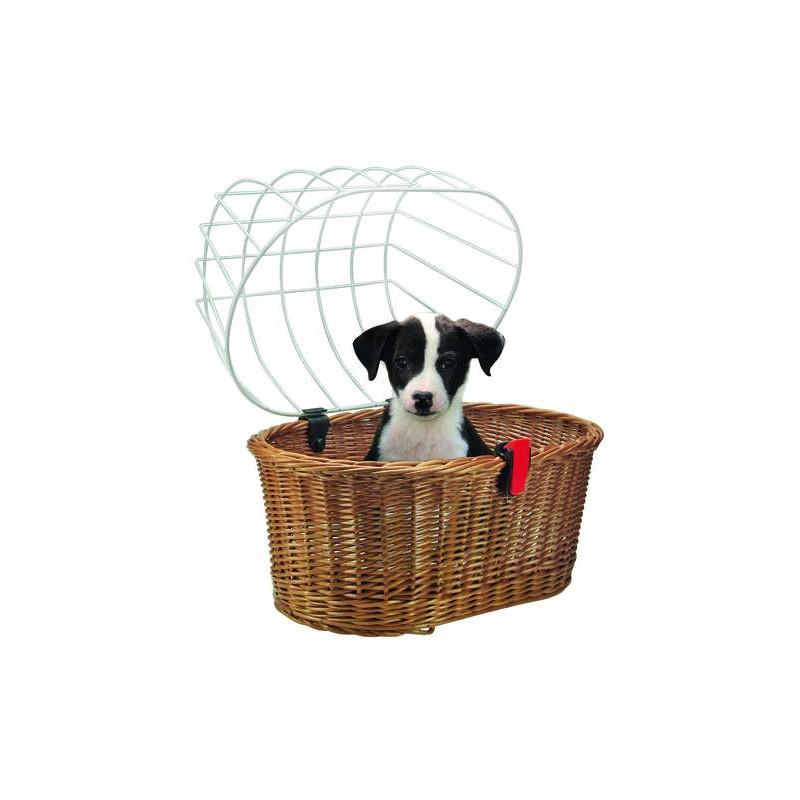 KlickFix Doggy Basket Panier pour chien - Val de Loire Vélo Tours-Blois