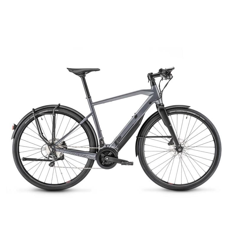 Moustache Friday 28.5 - Vélo électrique - Val de Loire Vélo Tours-Blois Taille M Cadre Cadre fermé Couleur Gris souris