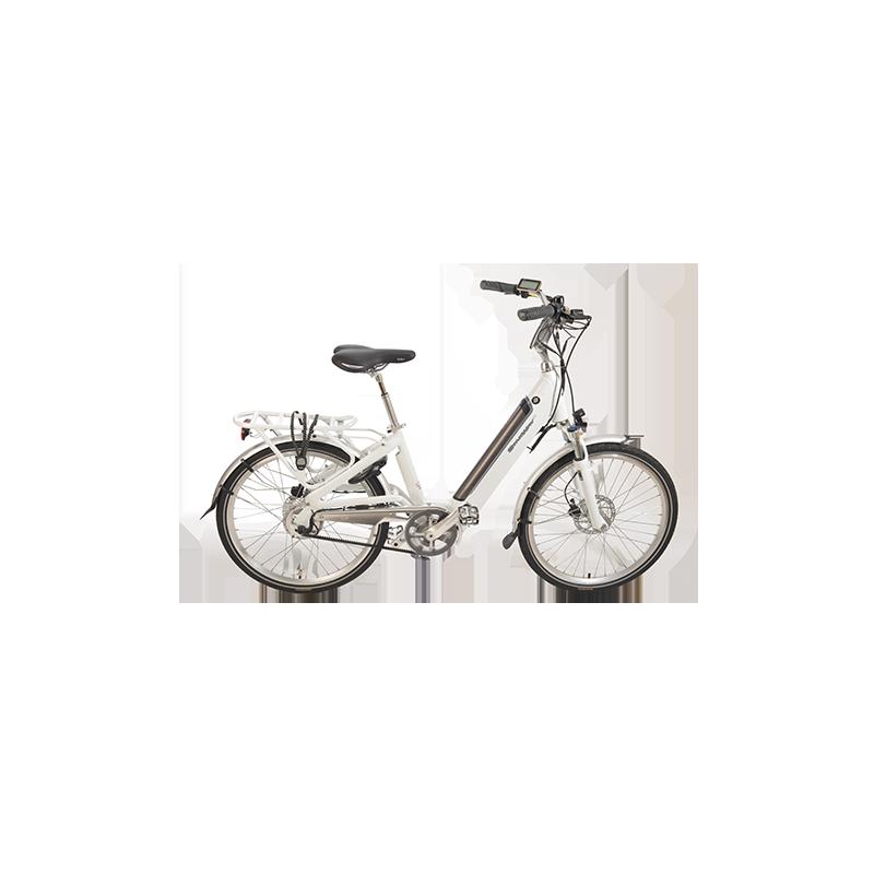 """Vélo Facile Urban 26"""" blanc 2021 chez Véloland Blois"""