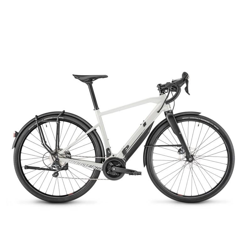 Moustache Friday 28.7 - Vélo électrique - Val de Loire Vélo Tours-Blois Taille S Couleur Cool Grey