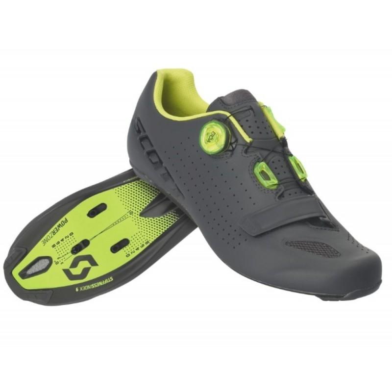 Chaussures Scott Road Vertec Boa Gris - Val de Loire Vélo - Tours Blois Taille 47