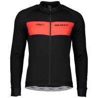 Scott Veste RC Warm Noir/Rouge - Val de Loire Vélo - Tours Blois Taille S