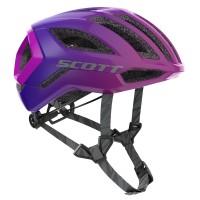 Scott Casque Supersonic Centric + Violet - Val de Loire Vélo - Tours Blois Taille S