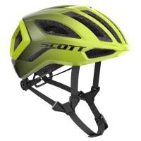Scott Casque Centric + Jaune - Val de Loire Vélo - Tours Blois Taille S