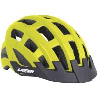 Lazer Casque Compact Flash Jaune - Val de Loire Vélo - Tours Blois