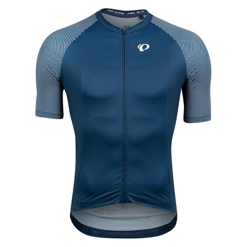 Pearl Izumi Maillot Interval Bleu/Blanc Bevel - Val de Loire Vélo - Tours Blois Taille S