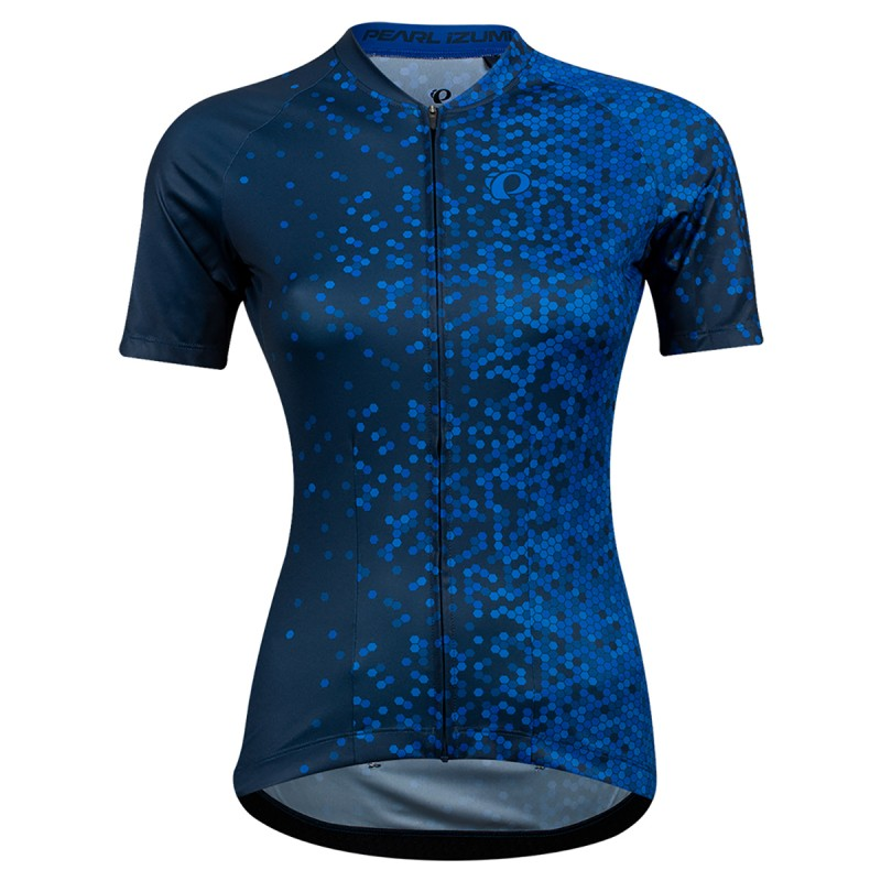 Pearl Izumi Maillot Attack Bleu Dame - Val de Loire Vélo - Tours Blois Taille S