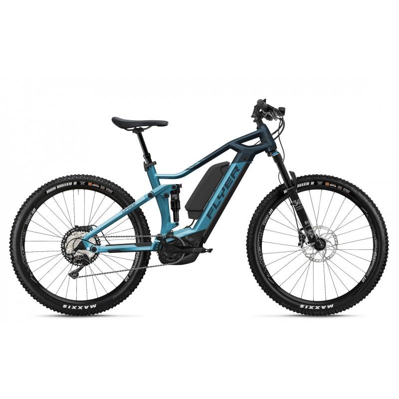Flyer Uproc3 4.10 625kWh - Val de Loire Vélo Tours-Blois Taille M Couleur Bleu