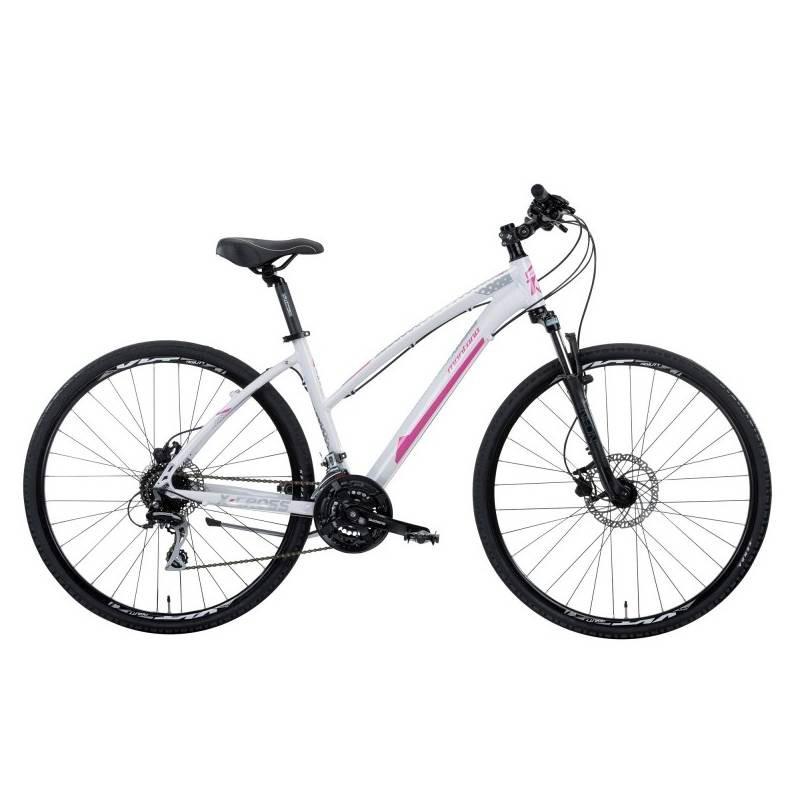 Montana X-Cross Lady 28 Acera - Val de Loire Vélo Tours Blois Couleur Blanc Taille 44