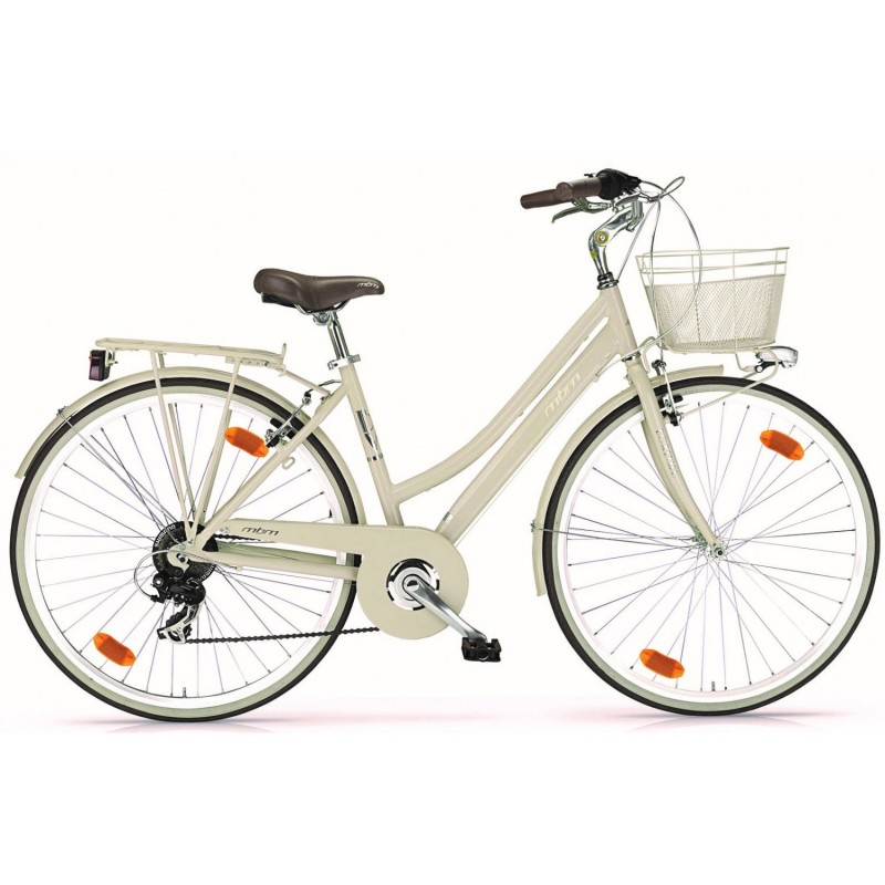 """MBM Boulevard Dame 6v - Val de Loire Vélo Tours-Blois Couleur Beige Tailles de roues 28"""""""