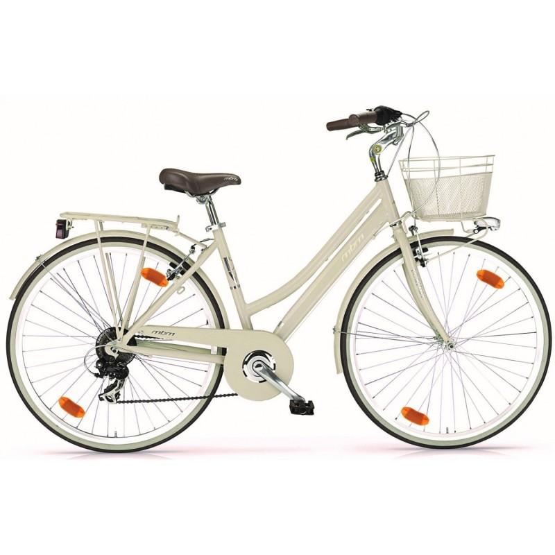 """MBM Boulevard Dame 18v - Val de Loire Vélo Tours-Blois Couleur Beige Tailles de roues 28"""""""