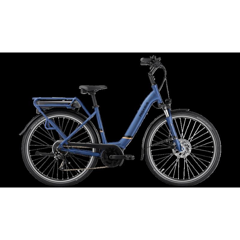 Pegasus Solero E9 Lite Wave 2021 bleu 400wh chez Val de Loire Vélo Taille 50