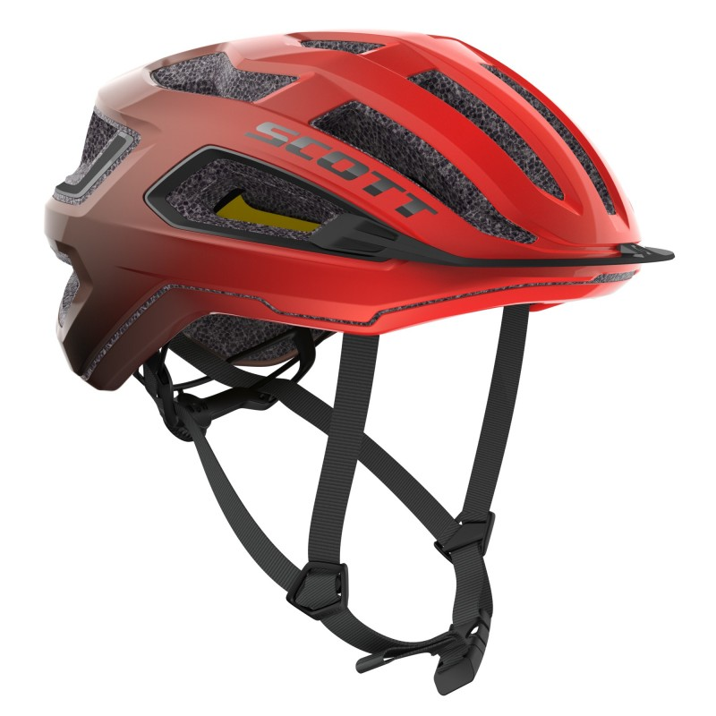 Scott Casque ARX Plus Rouge - Val de Loire Vélo Tours-Blois Taille M