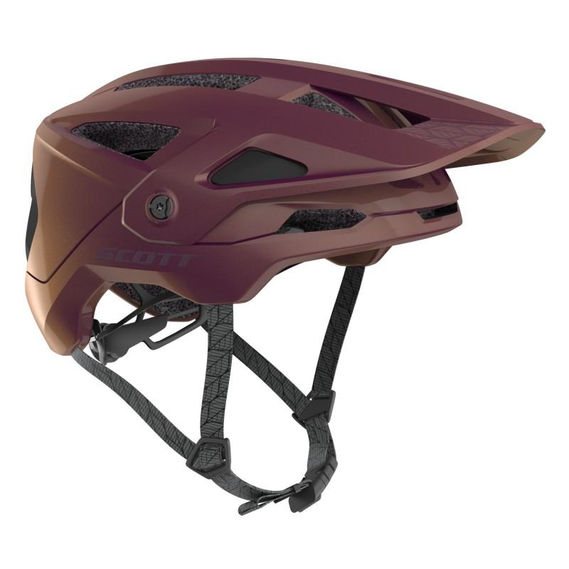 Scott Casque Stego Plus Violet - Val de Loire Vélo Tours-Blois Taille M