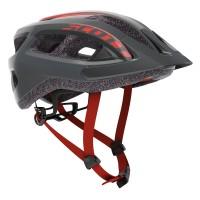 Scott Casque Supra Gris/Rouge - Val de Loire Vélo Tours-Blois Taille M