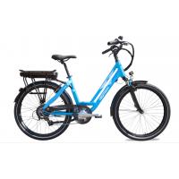 """Neomouv Carlina 26"""" Bleu - Val de Loire Vélo Tours-Blois Taille 45 Batterie 480 Wh"""