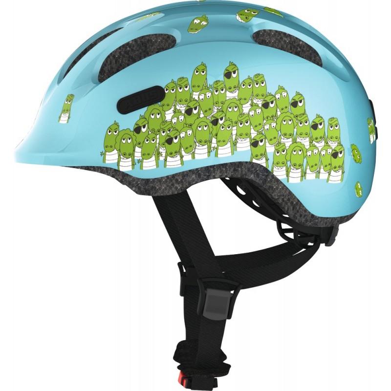 ABUS Casque Enfant Smiley 2.0 Croco - Val de Loire Vélo Tours-Blois