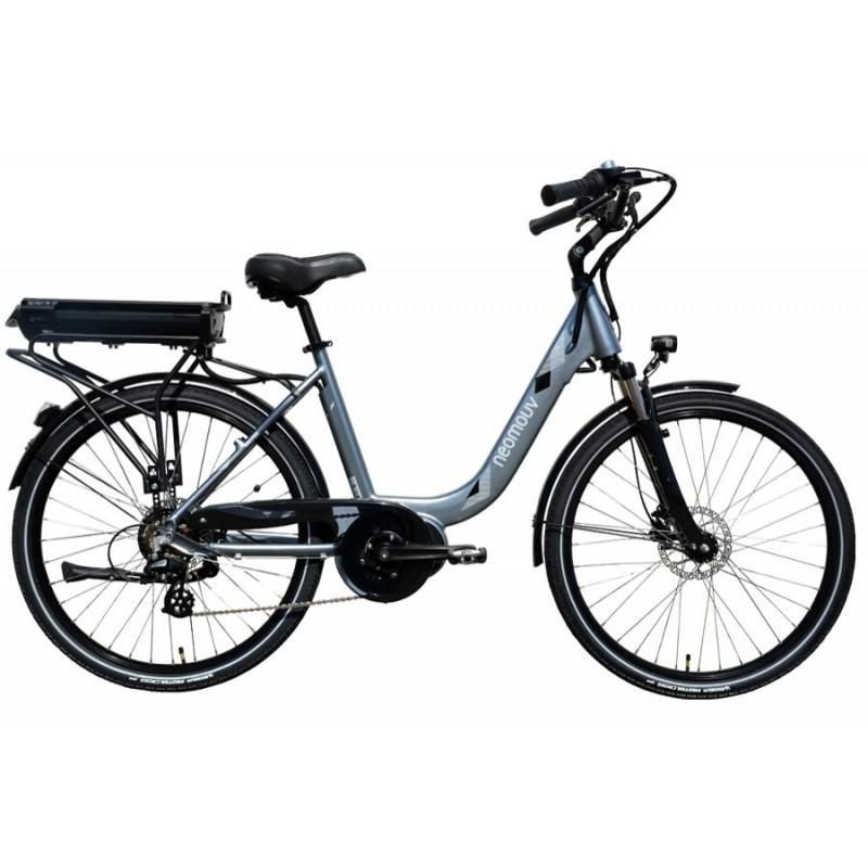"""Neomouv Kalyso Hy Acier - Val de Loire Vélo Tours-Blois Tailles de roues 28"""" Taille 46 Batterie 480 Wh"""