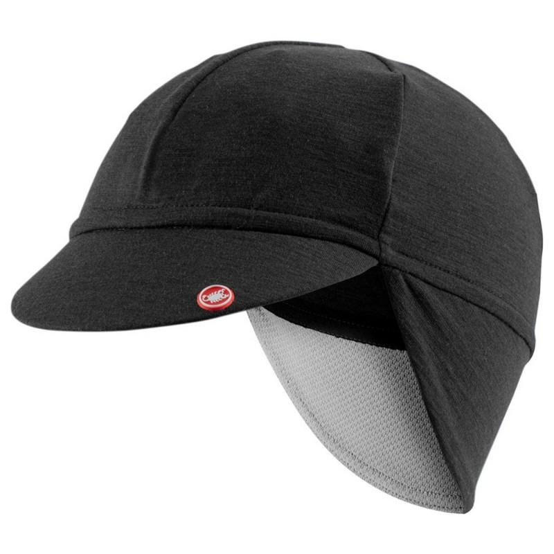 Castelli casquette Bandito noir chez Val de Loire Vélo
