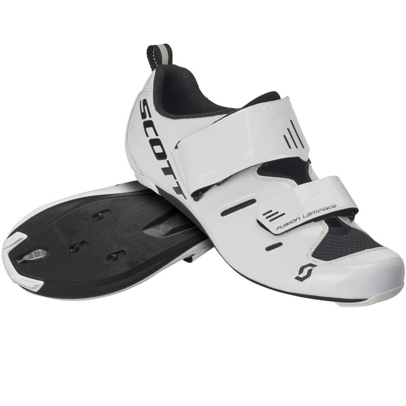 Scott Chaussures Road Tri Pro M - Val de Loire Vélo Tours-Blois Couleur Blanc Taille 41