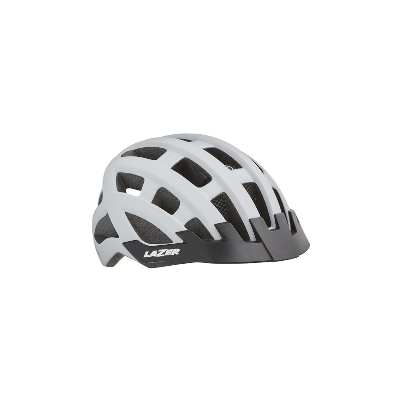 Casque Route Lazer Compact DLX - Val de Loire vélo Tours-Blois Couleur Blanc
