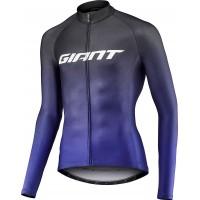 Giant Maillot ML Race bleu 2021 chez Val de Loire Vélo Tours et Blois Taille S