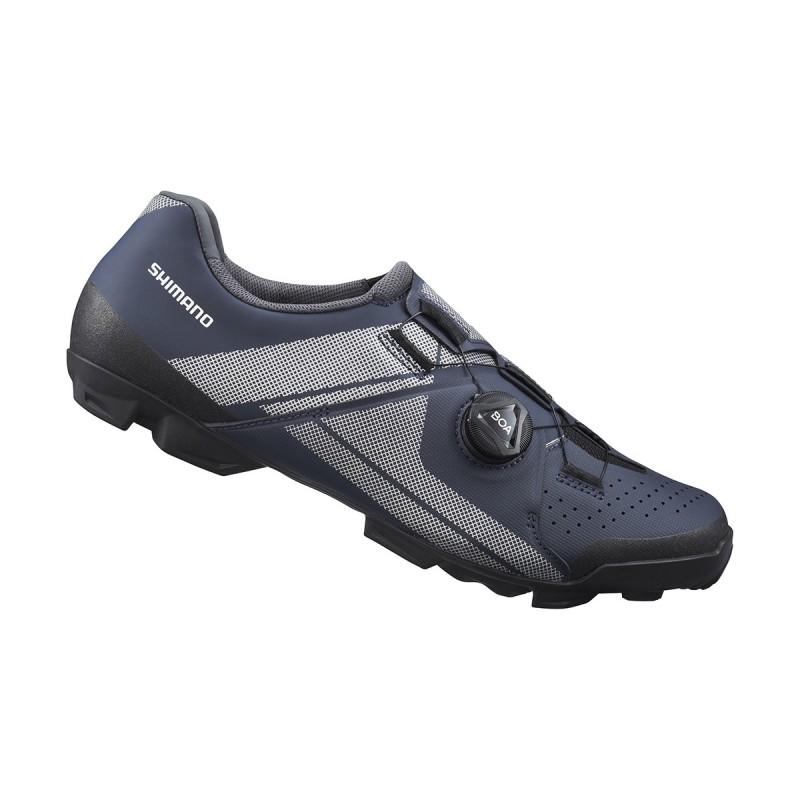 Shimano Chaussures XC300 - Val de Loire Vélo Tours-Blois Couleur Bleu Taille 42