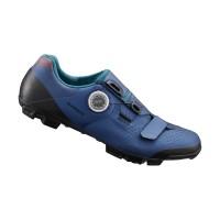 Shimano Chaussures XC501 Femme - Val de Loire Vélo Tours-Blois Couleur Bleu Taille 42