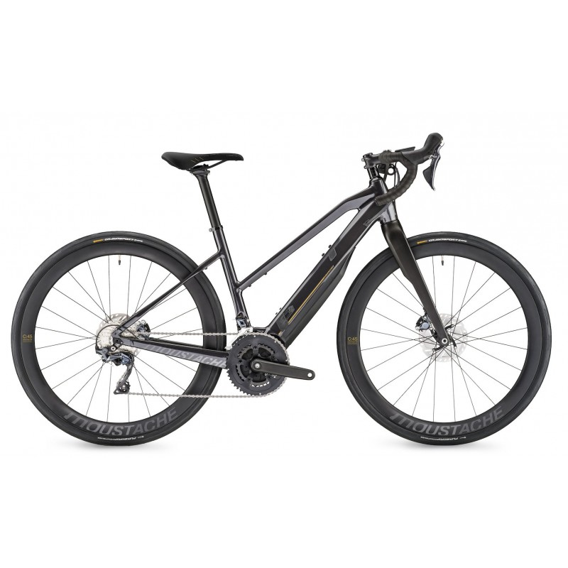 Moustache Dimanche 28.7 open 500wh noir 2020 - Val de Loire Vélo Tours Taille S