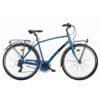 Montana Lunapiena 28 Lady REVO 7v - Val de Loire Vélo Tours-Blois Couleur Bleu Taille 44
