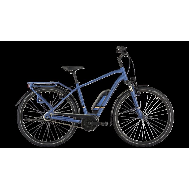 Pegasus Solero E8R Lite 400wh bleu mat 2021 chez Val de Loire Vélo Taille 48