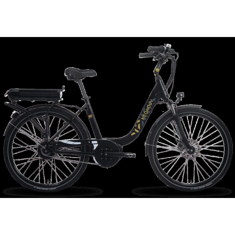 Neomouv Kalyso HY N7 26'' noir chez Val de Loire Vélo Batterie 480 Wh