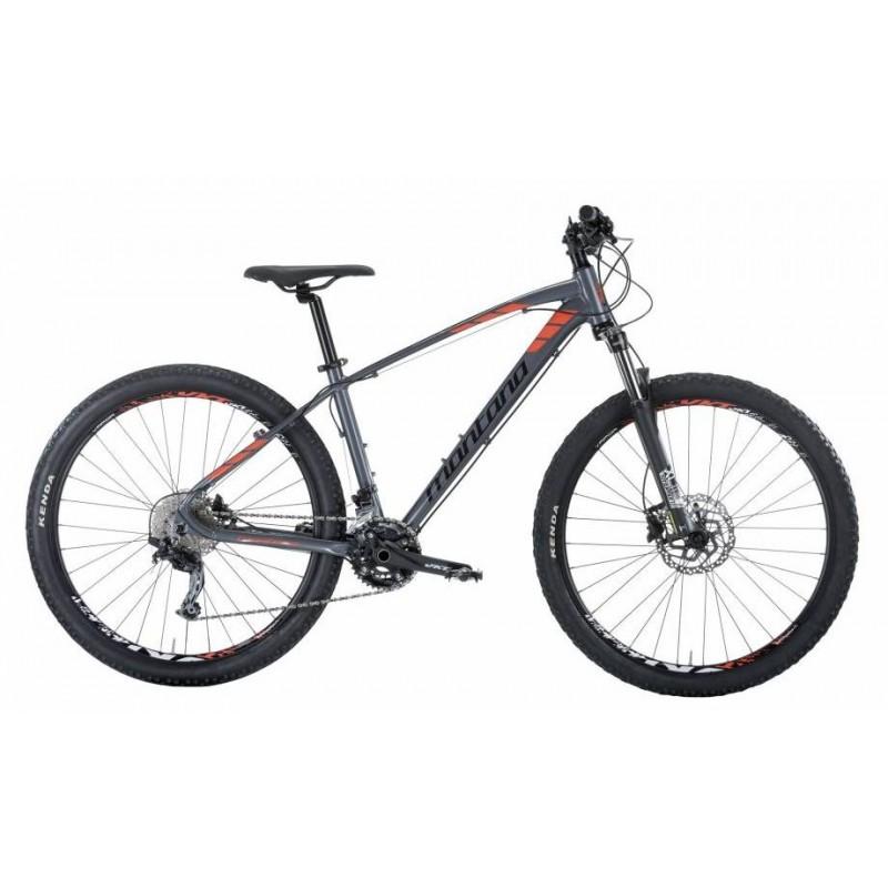 """Montana Urano 27.5"""" Deore hydraulique gris-rouge chez Val de Loire Vélo Taille 47"""