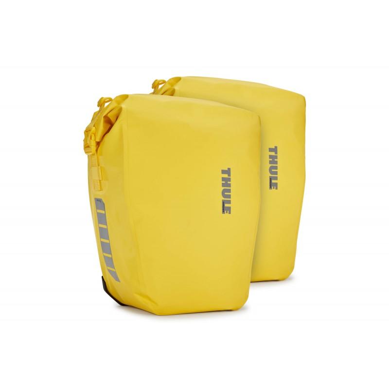 Thule Shield Pannier 25L jaune - Val de Loire Vélo - Tours Blois