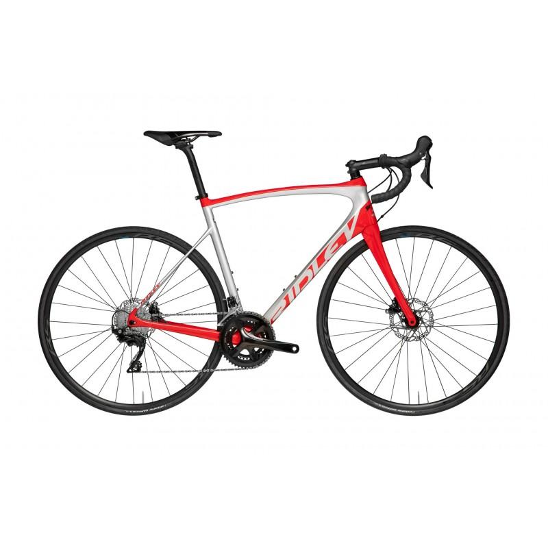 Ridley Fenix SL disc 105 argent-rouge chez Val de Loire Vélo Tours Blois Taille XXS