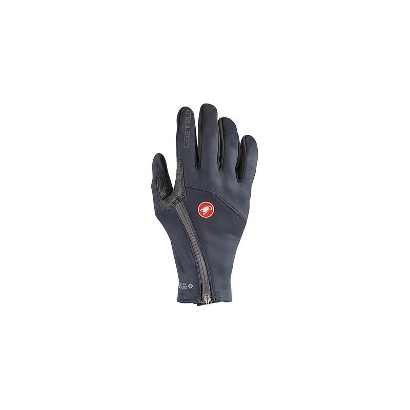 Castelli gants Mortirolo bleu foncé  Val de Loire vélo Taille M