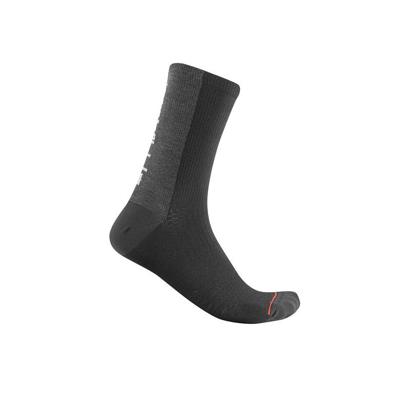 Castelli chaussettes Bandito Wool 18 noir Val de Loire vélo Taille XXL