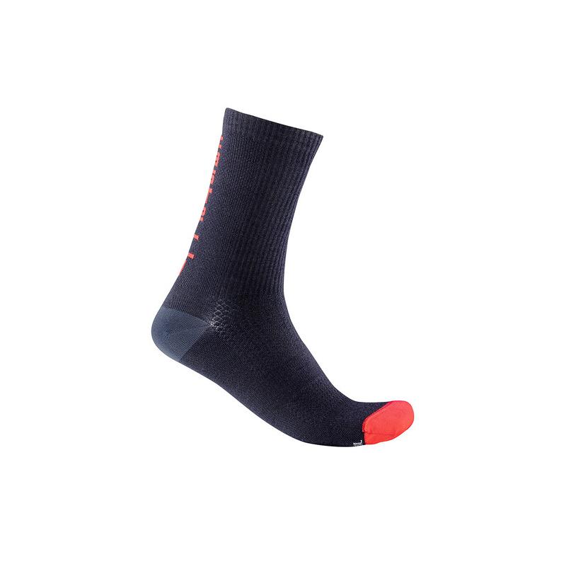 Castelli chaussettes Bandito Wool 18 bleu Val de Loire vélo Taille XXL