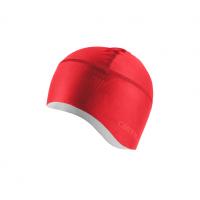 Castelli sous casque Pro Thermal rouge Val de Loire vélo