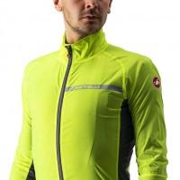 Castelli veste Squadra Stretch jaune fluo Val de Loire vélo Taille M