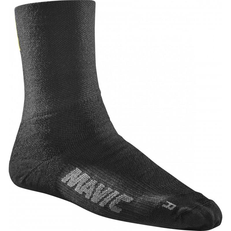 Mavic chaussettes Essentiel Thermo noir chez Val de Loire Vélo Taille 36-38