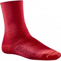 Mavic chaussettes Essentiel Thermo rouge chez Val de Loire Vélo Taille 42-44