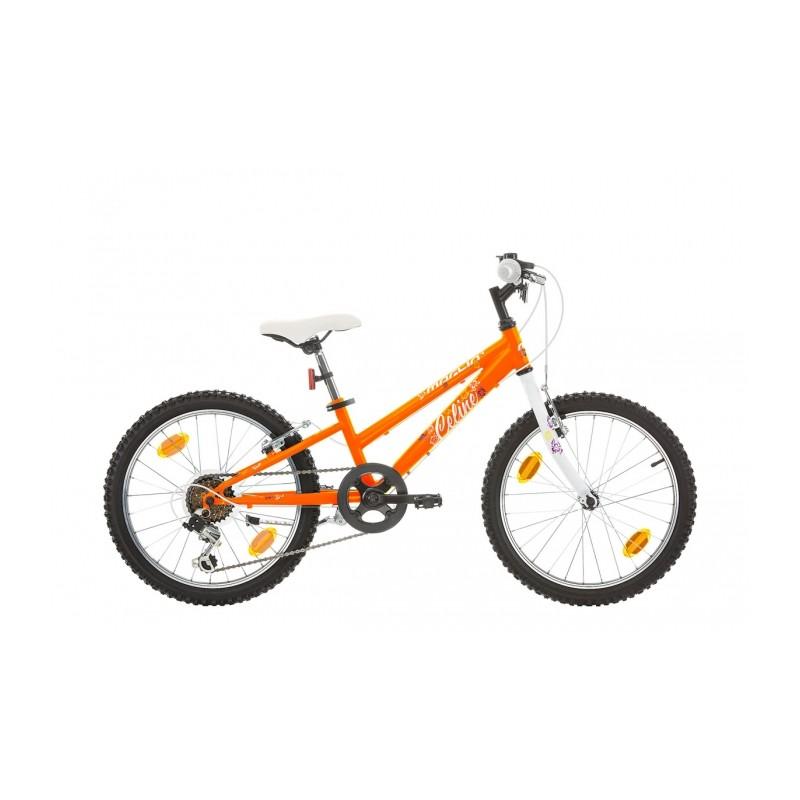 """VTT Celine 20"""" - Val de Loire Vélo Tours-Blois Couleur Orange Tailles de roues 20"""""""