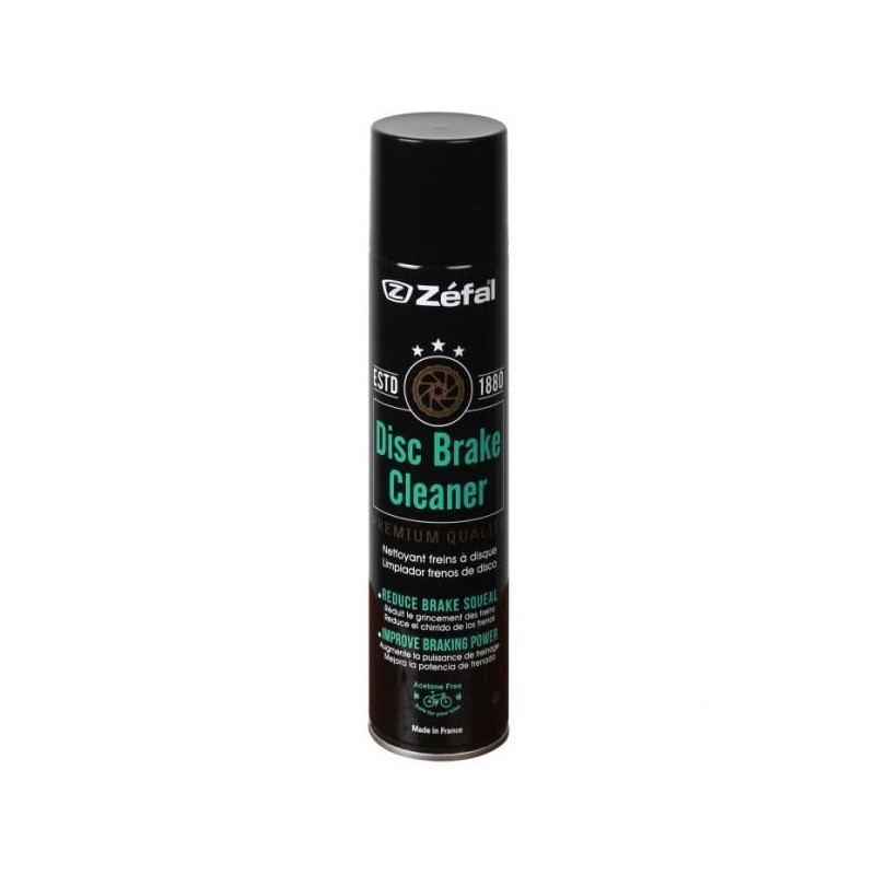 Zefal Disc Brake Cleaner Spray 400mL - Val de Loire Vélo Tours-Blois
