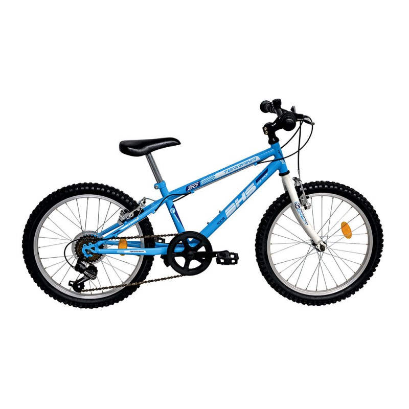 """Vélo Enfant Devron DHS 20"""" - Val de Loire Vélo Tours-Blois Couleur Bleu Tailles de roues 20"""""""